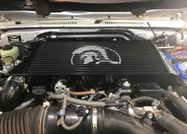 Installation of the Legendex Big Boy Intercooler on a VDJ79 Series 4.5L LandCruiser